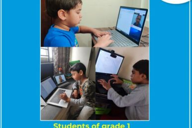 Students-of-grade-1-sharpening-their-ICT-skills-600x400